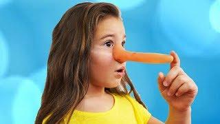 Anya Pretend Play Magic Long Nose | Fun Kid Video