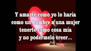 Luis Miguel Amarte es un placer decicado Lyric