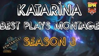 Katarina Montage S8 - Katarina Best Plays S8 - League of Legends🏆🎖️