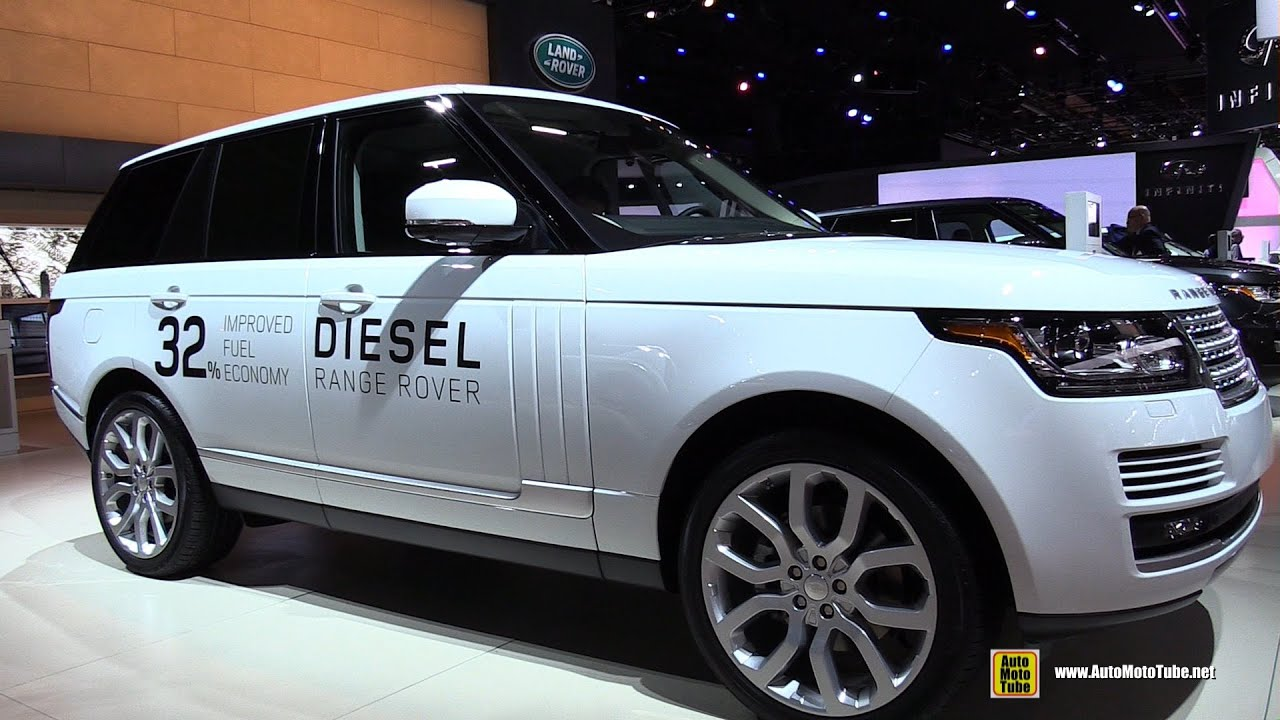 2015 Range Rover HSE Diesel Exterior And Interior