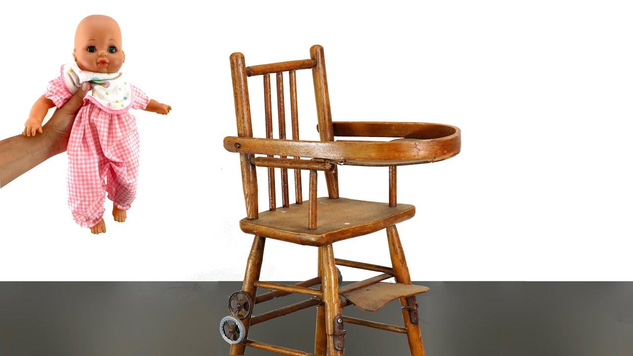 Broken Highchair Restoration