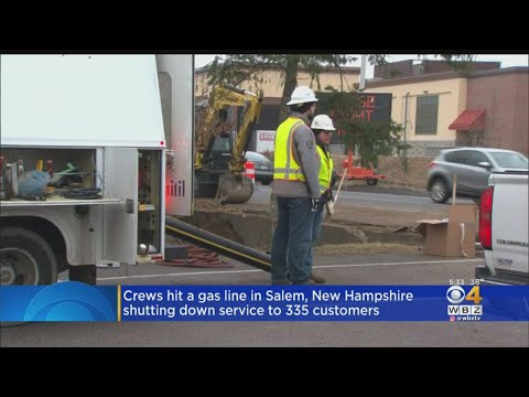 Gas Service Shut Down In Salem, NH After Crew Hits Line