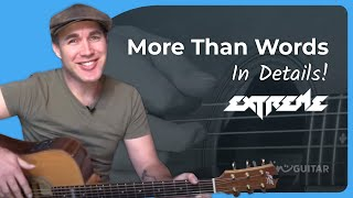 More Than Words - Extreme - Guitar Lesson Acoustic (SB-126) Nuno