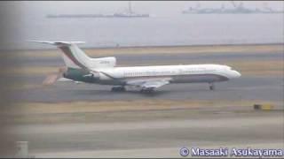 Republic of Bulgaria Tupolev Tu-154M - Special VIP Flight @ Haneda 【LZ-BTZ】