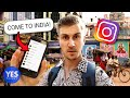 SAYING YES TO A CRAZY INSTAGRAM DM (Flew to INDIA!!)