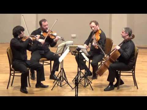 "Haydn - String Quartet, Op. 76 No. 2 ""FIFTHS"" - ZAGREB QUARTET"