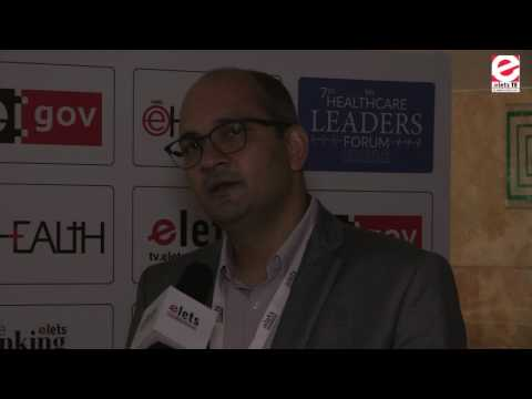 Elets 7th Healthcare Leaders Forum - Interview - Dr Lalit Singh, Director....