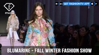 Blumarine Stuns on the Pink Runway with Fall/Winter Fashion Show 2018-19 | FashionTV | FTV