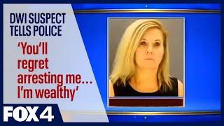 Woman kills road worker telling police she is wealthy