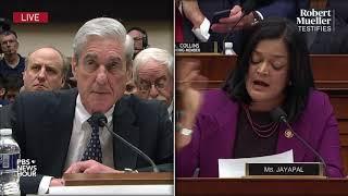 WATCH: Rep. Pramila Jayapal's full questioning of Robert Mueller | Mueller testimony