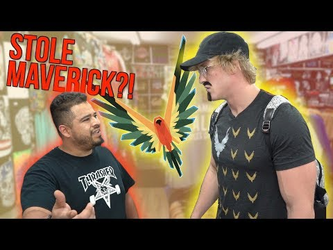 Thumbnail: CONFRONTING STORE OWNERS SELLING FAKE MAVERICK MERCH! **hostile**