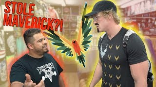 CONFRONTING STORE OWNERS SELLING FAKE MAVERICK MERCH! **hostile** thumbnail
