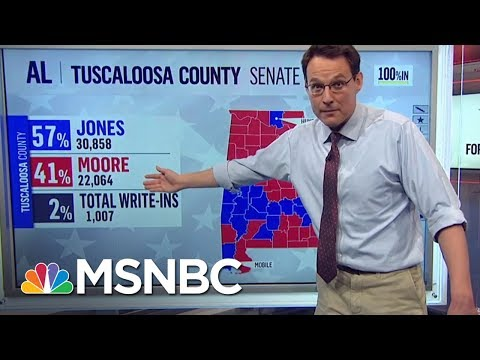 Doug Jones Triumphs Over Roy Moore In Alabama Senate Election | The Last Word | MSNBC