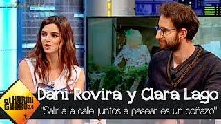 """Clara Lago:""""Salir a la calle juntos a pasear es un coñazo""""   - El Hormiguero 3.0"""