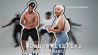 YouTube動画:DANCE WITH VIVS | Episode 1 - RAMZ