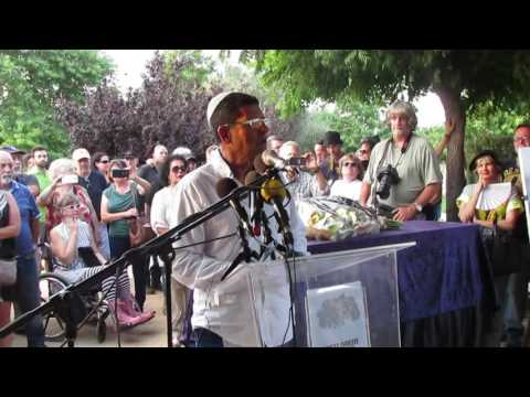 rpts - שמוליק צבי נפרד מחברו המלחין נחצ'ה היימן