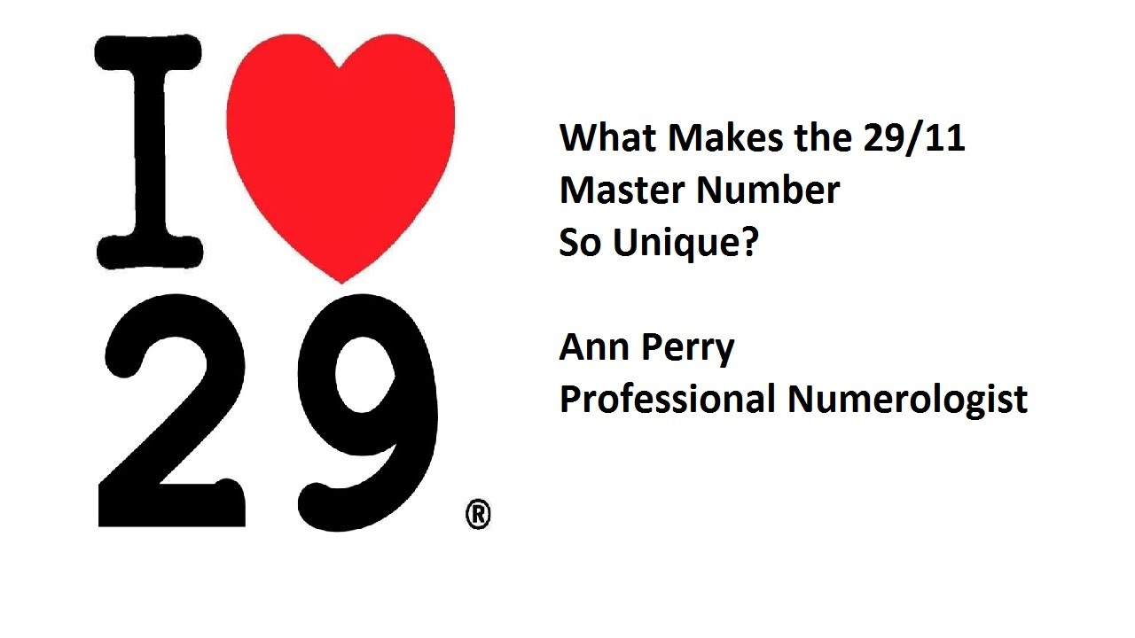 Numerology - What Makes the Master Number 29/11 So Unique ...