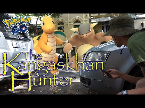 CATCHING RARE AND REGION EXCLUSIVE KANGASKHAN IN AUSTRALIA [Pokémon GO]
