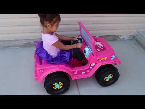 McDonalds Drive Thru on Barbie Power Wheels