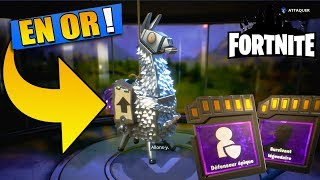 WHAT OF THE ARGENT! PACK OPENING OF LAMA FORTNITE SAUVER THE WORLD!