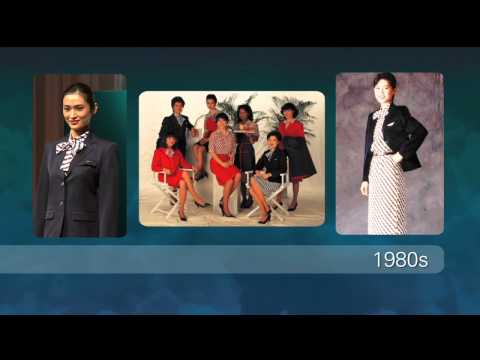 Cathay Pacific Walking on Air - Flight Attendant Uniform Fashion Show