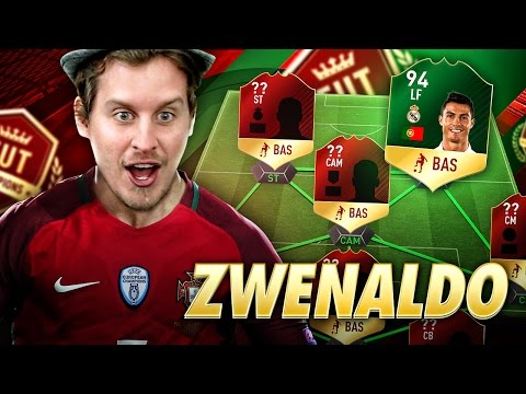 WE SIGN CRISTIANO RONALDO! PLAYING FUT CHAMPIONS WEEKEND LEAGUE IN PORTUGAL! FIFA 17 ULTIMATE TEAM