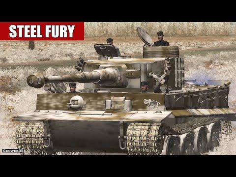 "Steel Fury Kharkov 1942 Otto Carius Campaign ""IIkino"" Mission 5 Pz.VI ausf.H Tank"
