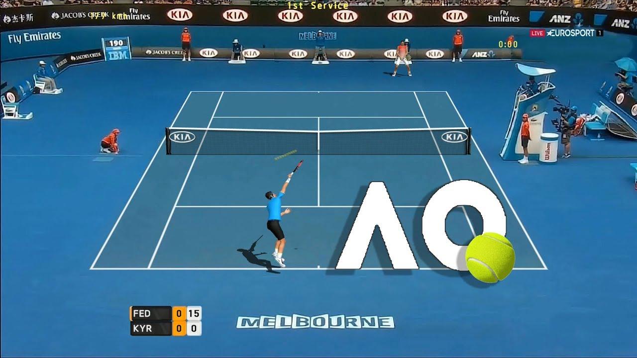 Tennis Elbow 2013 Nick Kyrgios