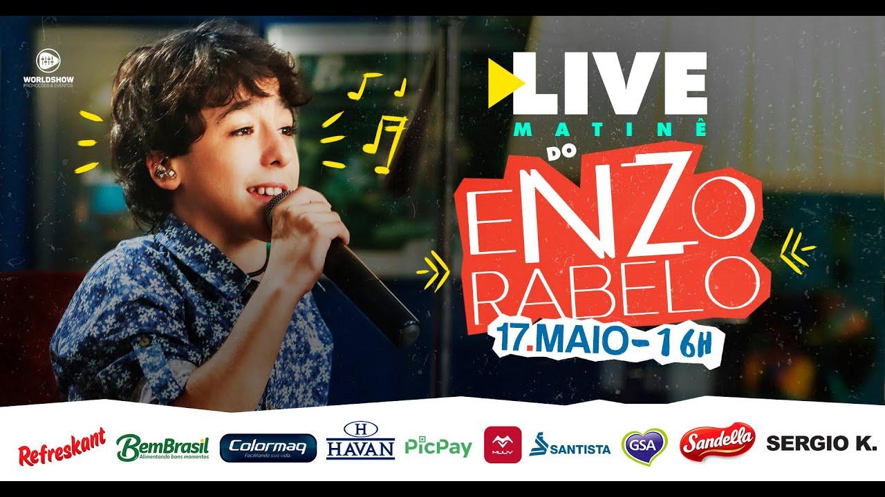 Live Enzo Rabelo | #FiqueEmCasa #CanteComigo