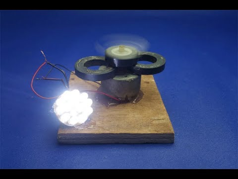 free energy electricity with magnets & motor || experiment at home