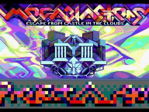 AMSTRAD CPC: Megablasters Escape from Castle in the Clouds Intro Music