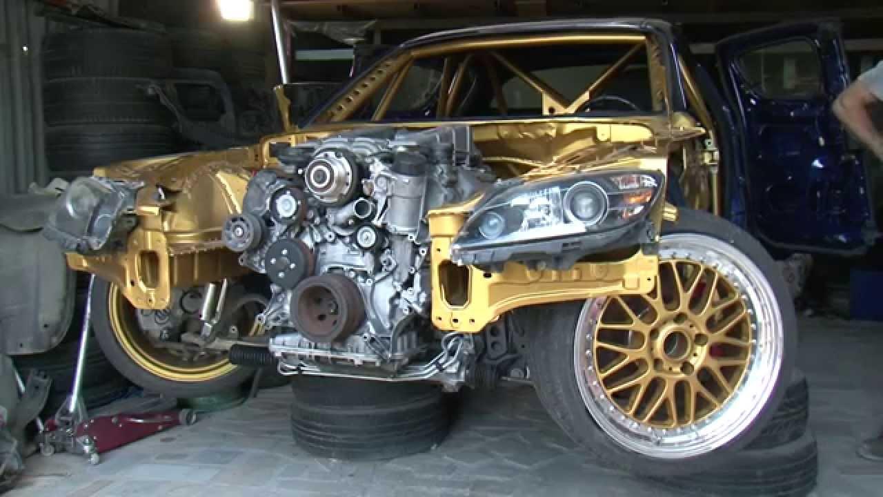 Tselos N New Project Mazda Rx8 55 Amg 2 Youtube