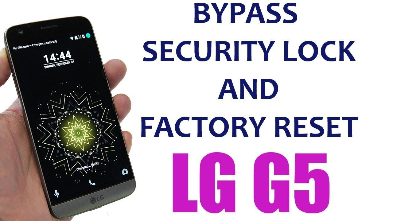 Desbloqueo LG G5 LS992 Sprint UNLOCK Android 7 0