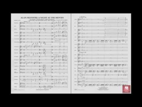 Alan Silvestri -- A Night At The Movies Arr. Michael Brown