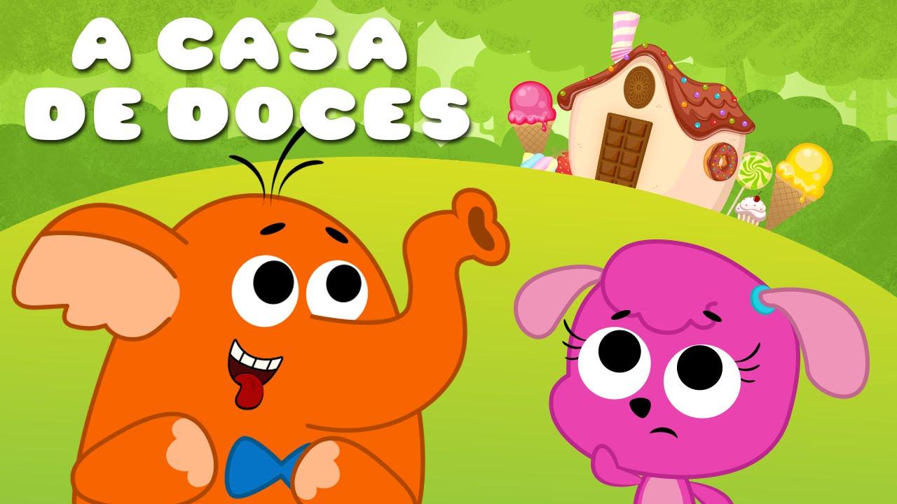 Joao E Maria Desenho Animado A Casa De Doces Youtube