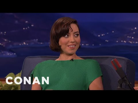 Aubrey Plaza's 'Parks and Rec' Birthday Reunion  - CONAN on TBS