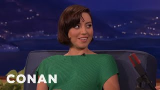 "Video Aubrey Plaza's ""Parks and Rec"" Birthday Reunion  - CONAN on TBS download MP3, 3GP, MP4, WEBM, AVI, FLV Agustus 2017"
