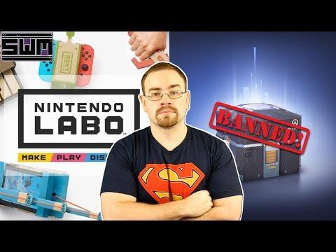 WOW...Belgium Bans Loot Boxes And Nintendo Labo Tops The Sales Charts | News Wave