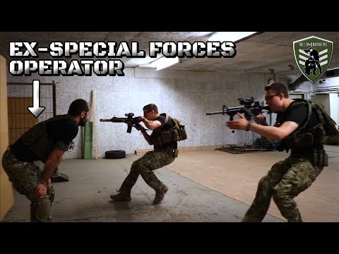 Airsofters Get Training from Ex-Special Forces Operator from YouTube · Duration:  10 minutes 23 seconds