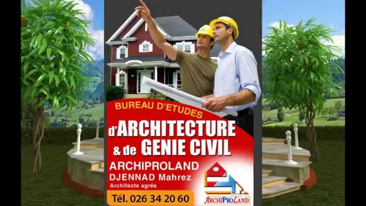 Bureau d etudes d architecture archiproland djennad mahrez azazga