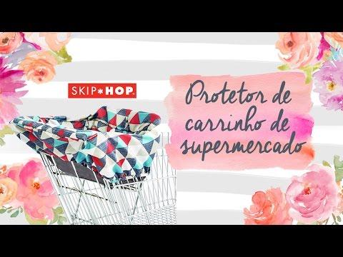 Review / Resenha do Protetor de Carrinho de Supermercado da Skip Hop