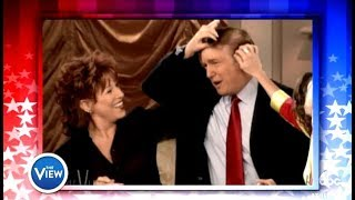 TRUMP Appeared 18 Times On The View - Collage Of Clips (The View)