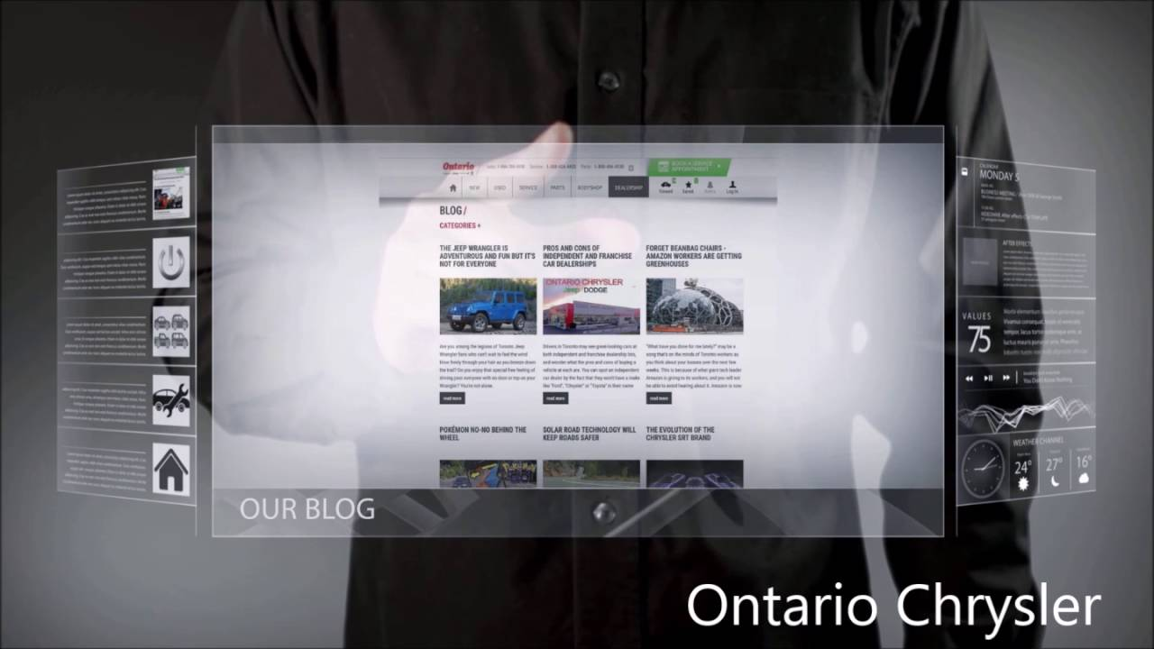 Ontario Chrysler Jeep Dodge Ram New Website Launch YouTube - Ontario chrysler jeep