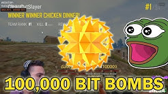 100k Bit Bomb Montage on Twitch | 1,600,000 Bits | davej974