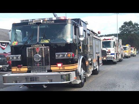 Apparatus Leaving Pine Grove 2018