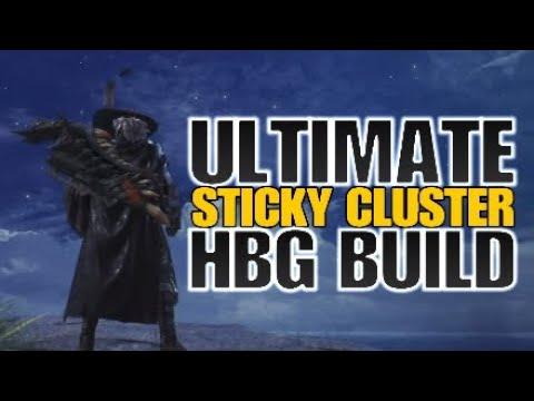 Monster Hunter: World Ultimate Sticky Cluster HBG build thumbnail
