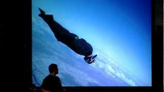 Free Fall Over the Alps : Remo Läng at TEDxBern
