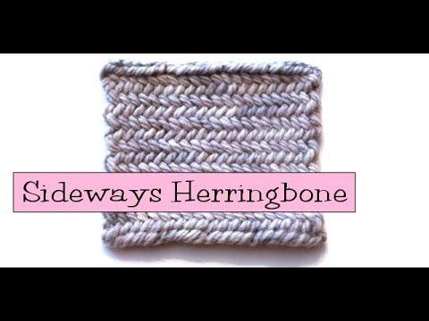 Herringbone Knit Stitch Bind Off Lesanismfo For