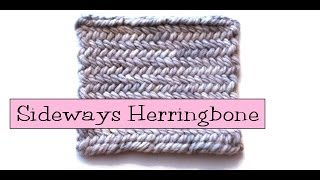 Fancy Stitch Combos - Sideways/Horizontal Herringbone