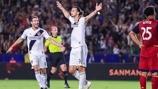 GOAL: Zlatan Ibrahimovic makes it a brace with a perfect header